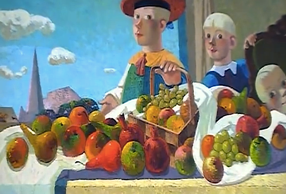 88. Fresh fruits | Свежие фрукты, canvas, oil, Nugzar Kahiani